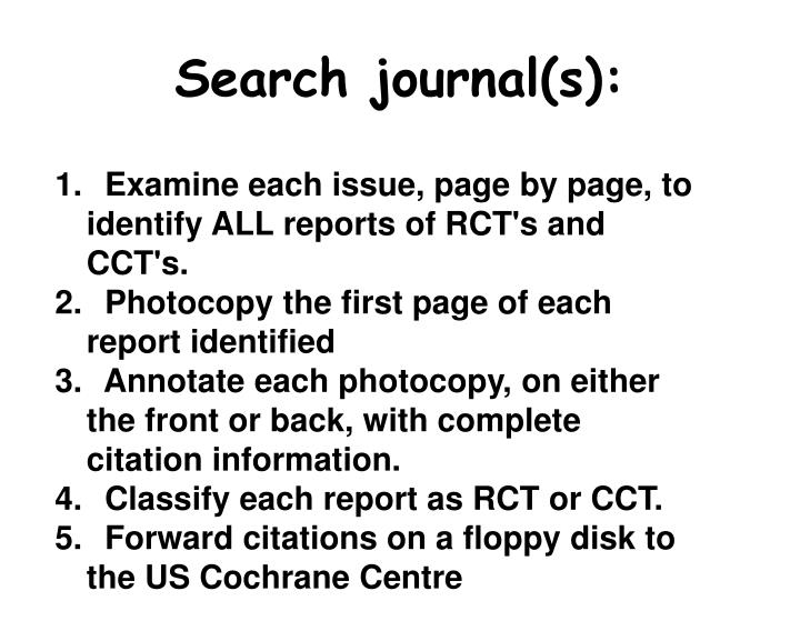 Search journal(s):