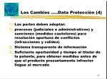 los cambios data protecci n 4