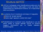 struttura dell icd