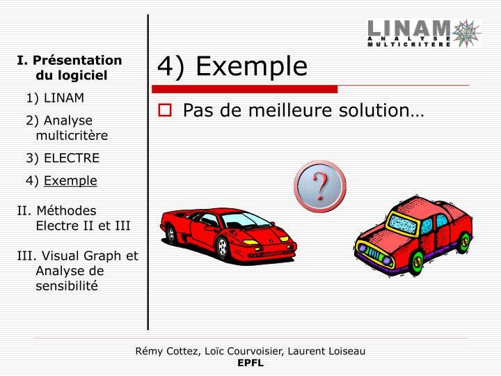 4) Exemple