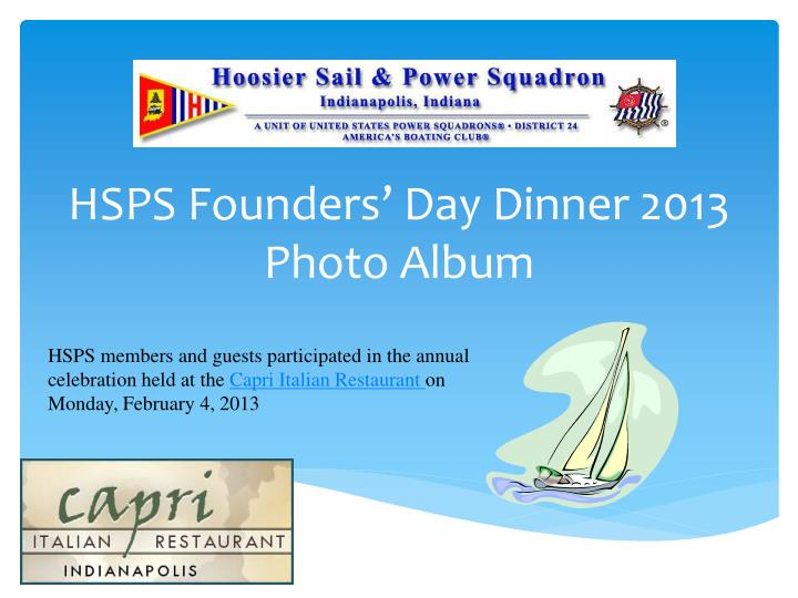 hsps founders day dinner 2013 photo album n.
