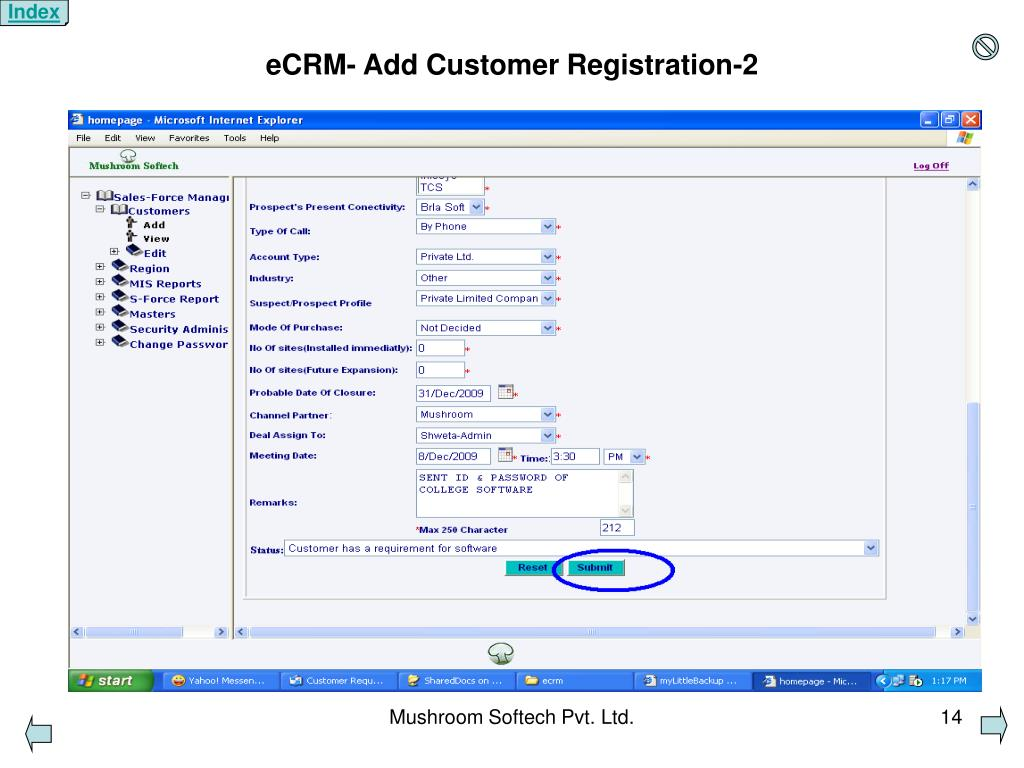 PPT - eCRM-Presentation PowerPoint Presentation - ID:4925074