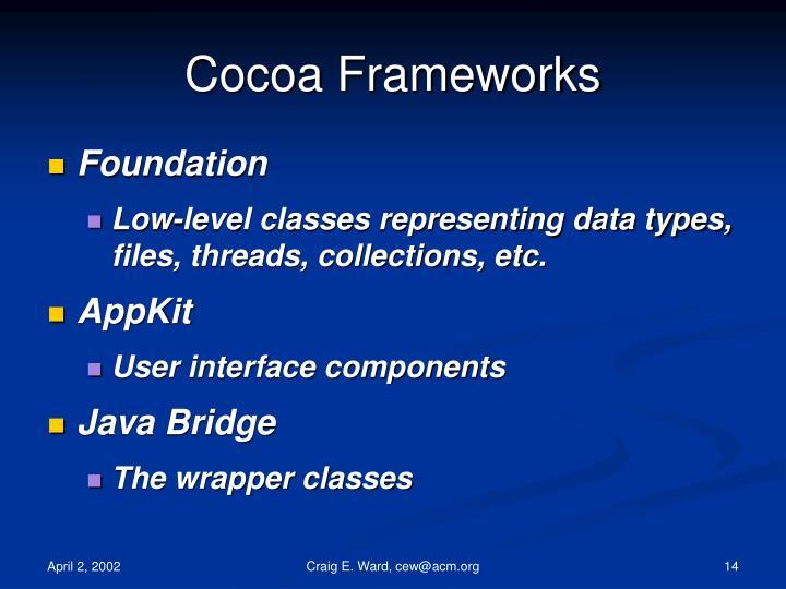 Cocoa Frameworks