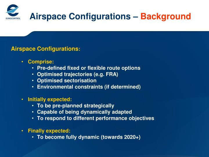 Airspace Configurations –