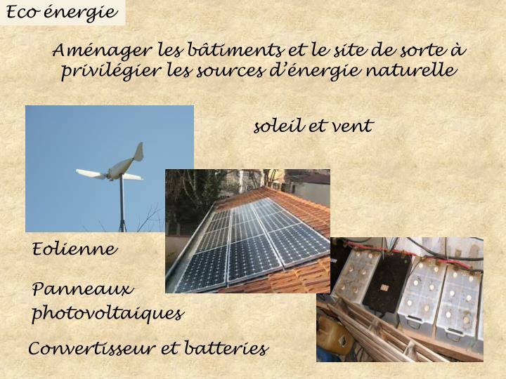 Eco énergie