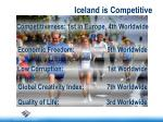 iceland is competitive