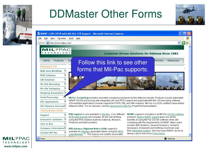 DDMaster Other Forms