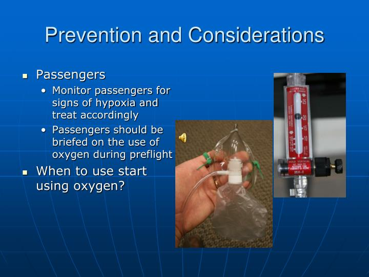 Prevention and Considerations