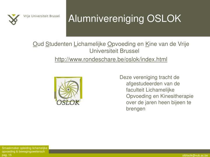 Alumnivereniging OSLOK