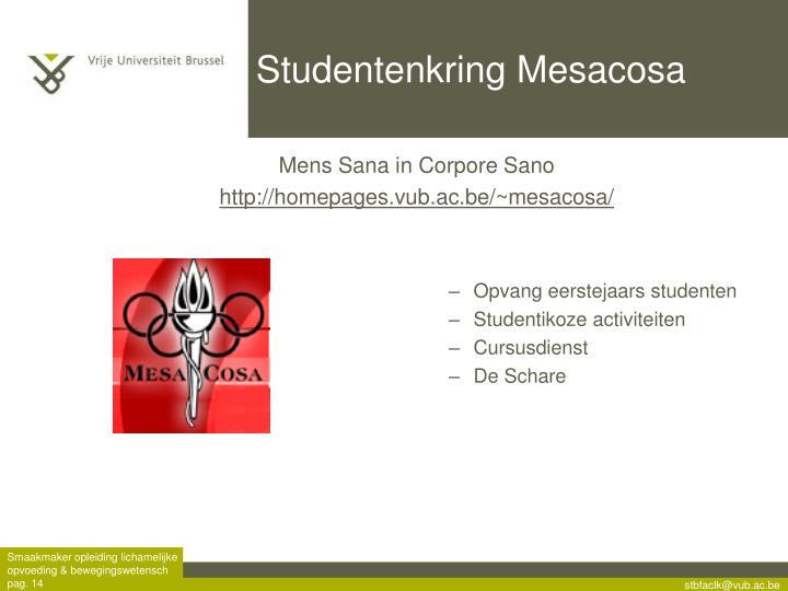 Studentenkring Mesacosa