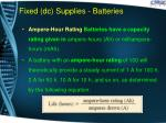 fixed dc supplies batteries9