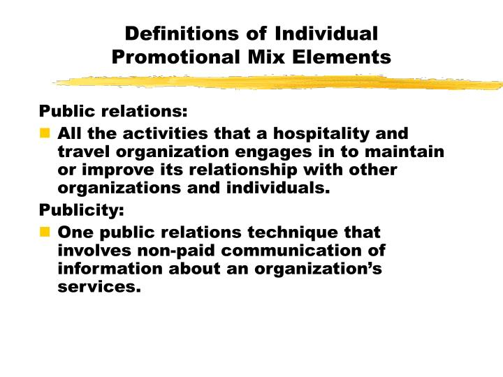 Definitions of Individual
