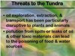 threats to the tundra1
