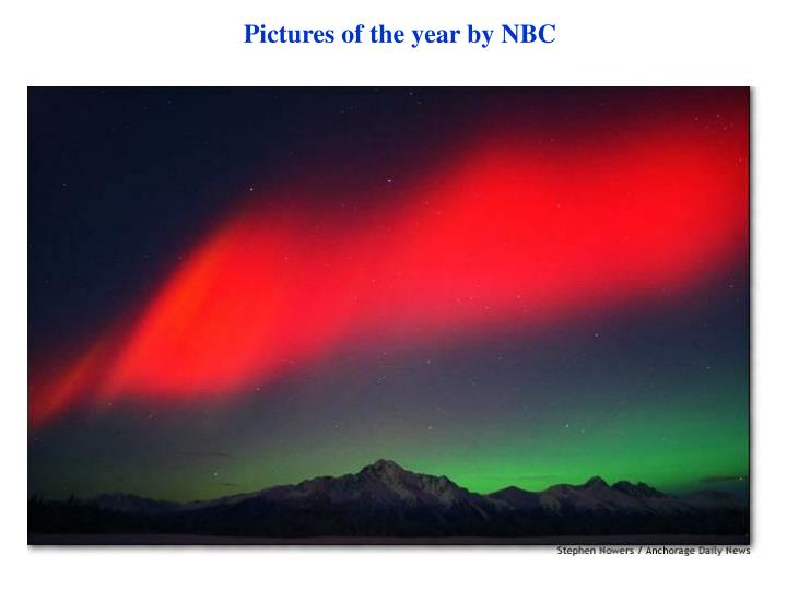 Pictures of the year by NBC