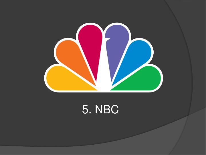 5. NBC