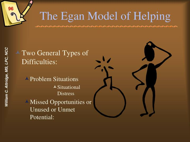 The Egan Model of Helping