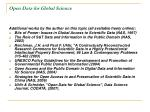 open data for global science9