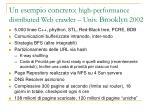 un esempio concreto high performance distributed web crawler univ brooklyn 2002