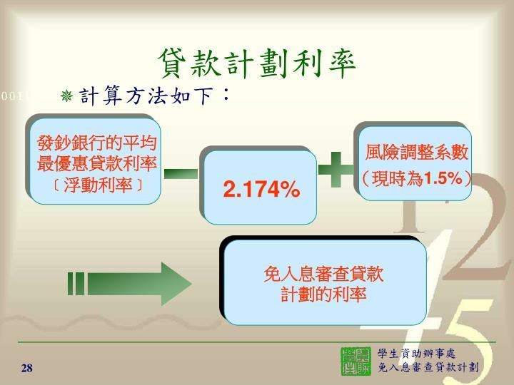 發鈔銀行的平均最優惠貸款利率