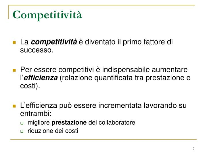 Competitivit