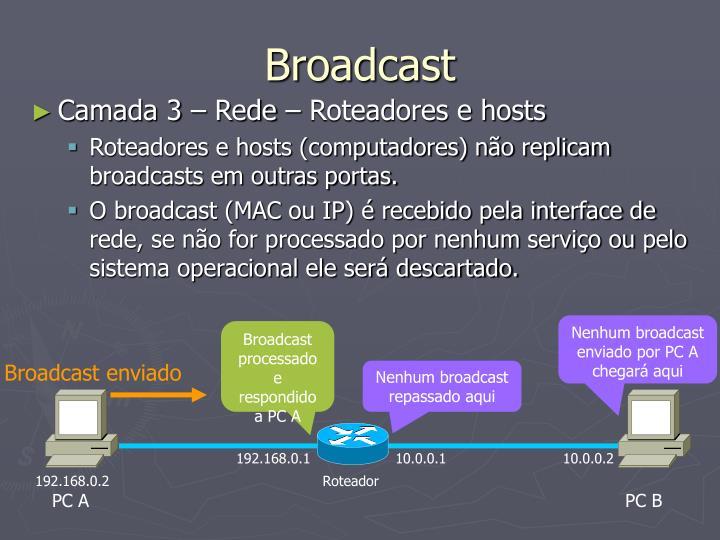 Broadcast enviado