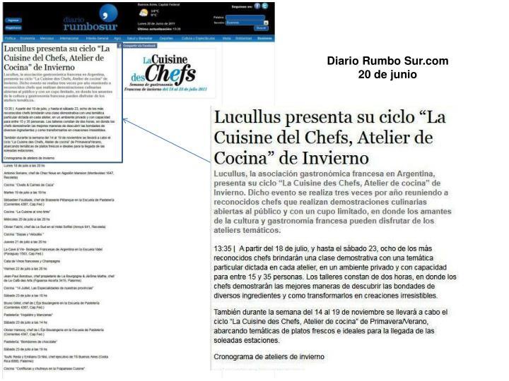 Diario Rumbo Sur.com