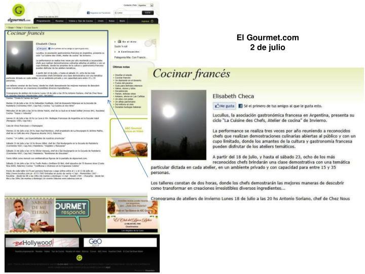 El Gourmet.com