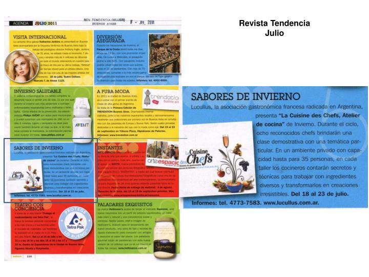 Revista Tendencia