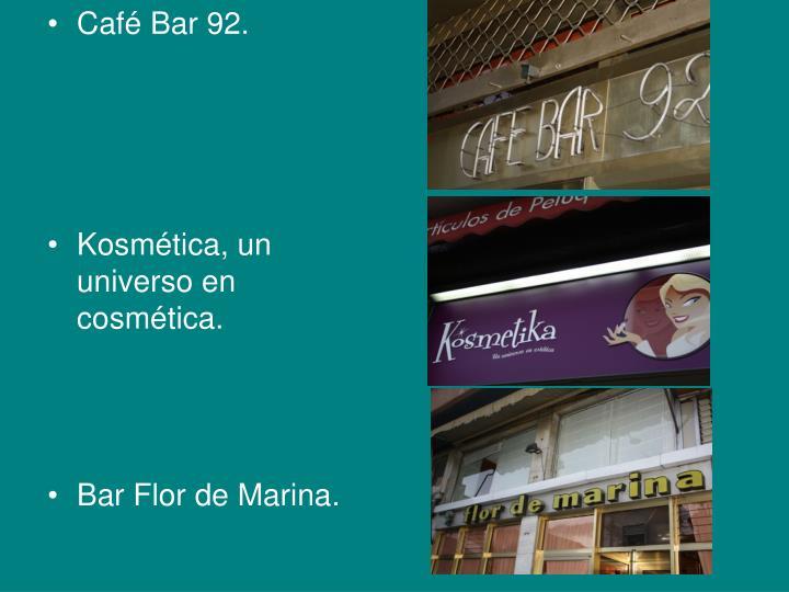 Café Bar 92.