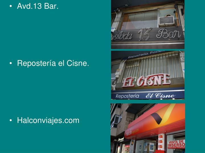 Avd.13 Bar.