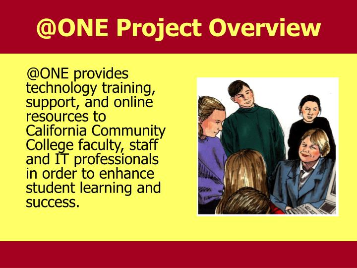 @ONE Project Overview