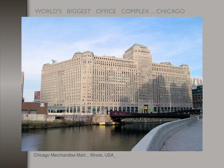 Chicago Merchandise Mart... Illinois, USA_