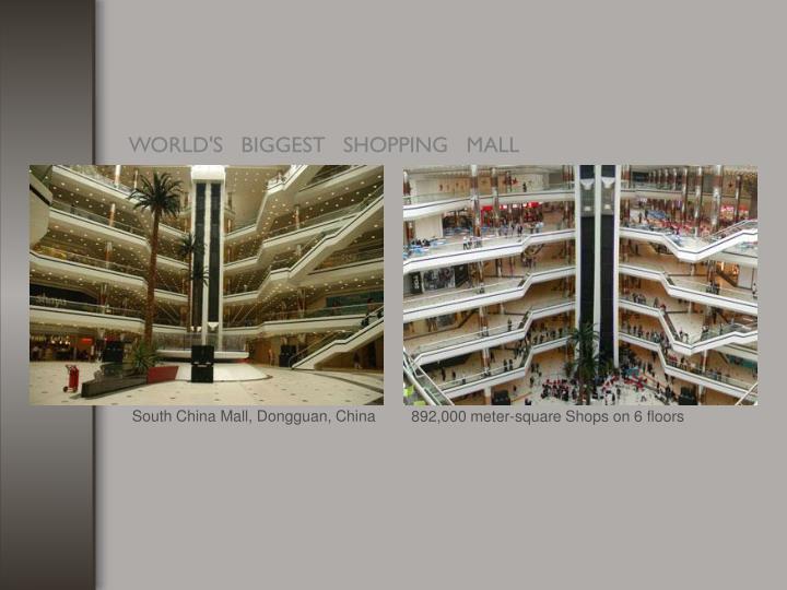 South China Mall, Dongguan, China
