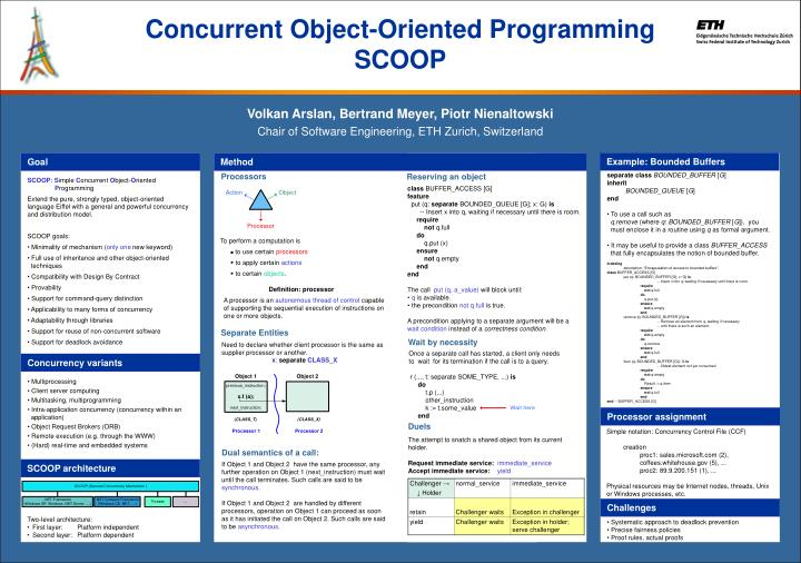 Concurrent Object-Oriented Programming