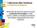 4 barreiras n o tarif rias 4 4 barreiras ecol gicas
