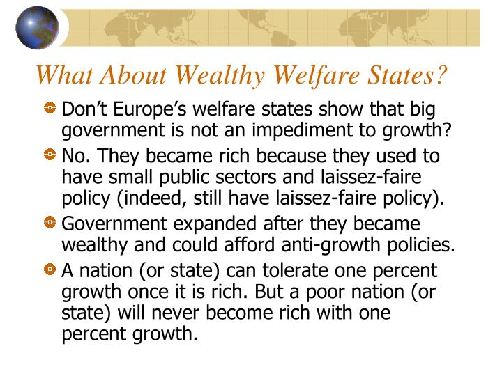 What About Wealthy Welfare States?