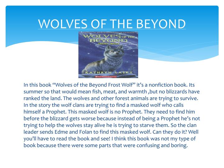WOLVES OF THE BEYOND