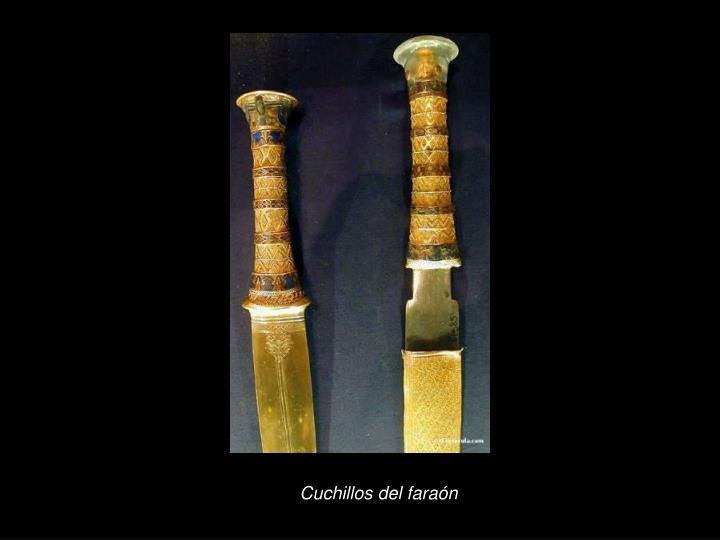 Cuchillos del faraón