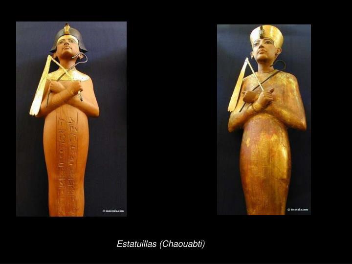 Estatuillas (Chaouabti)
