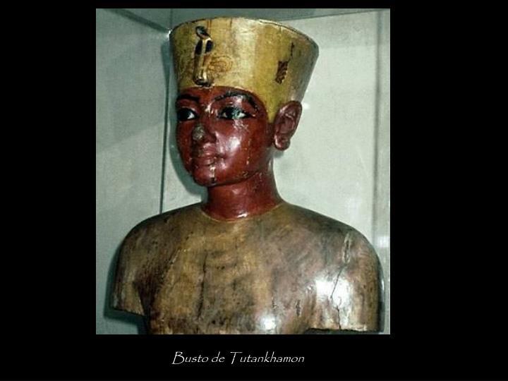 Busto de Tutankhamon