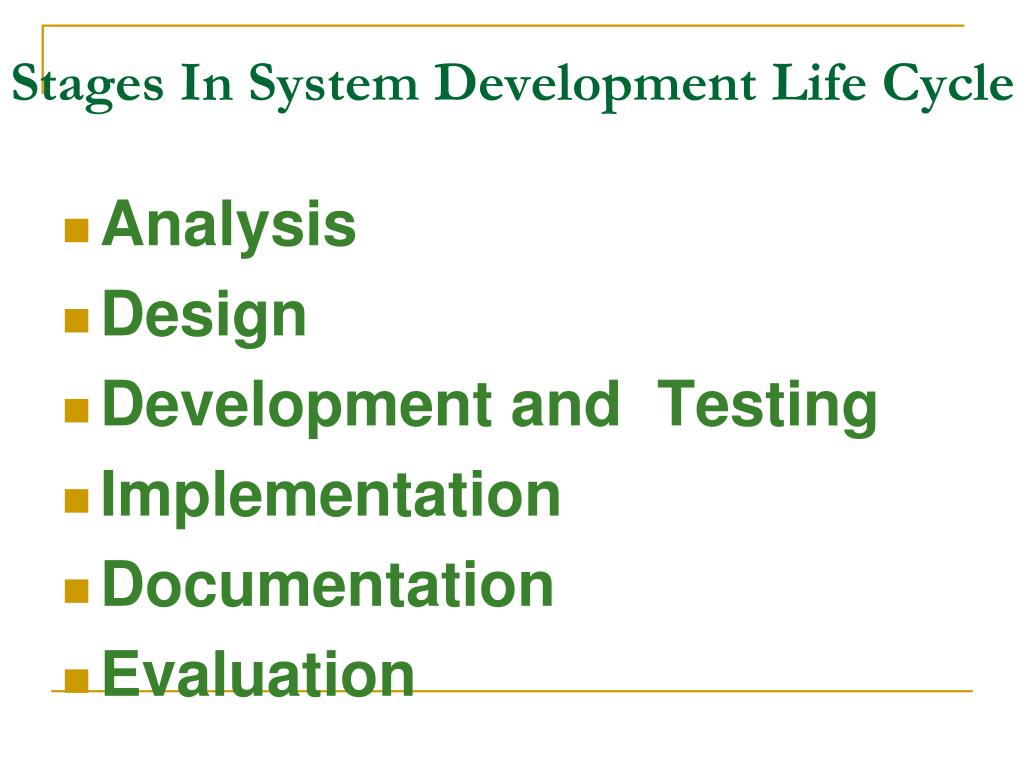 Ppt System Analysis And Design Powerpoint Presentation Free Download Id 4932529