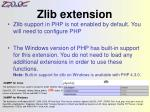 zlib extension