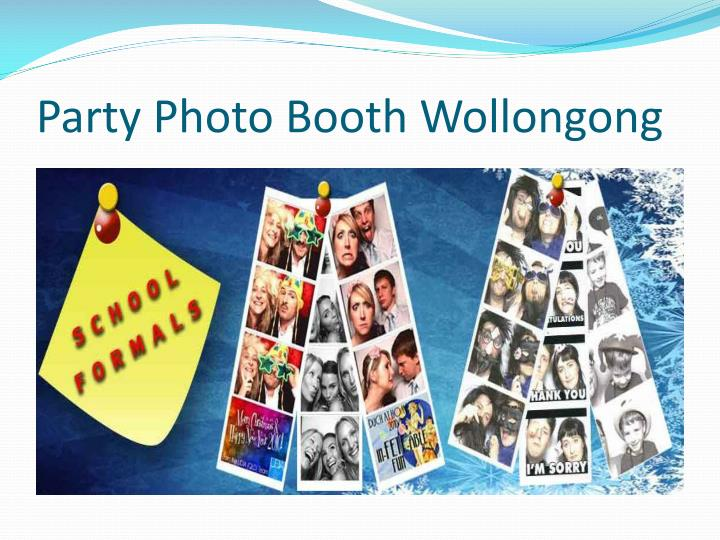 Party Photo Booth Wollongong