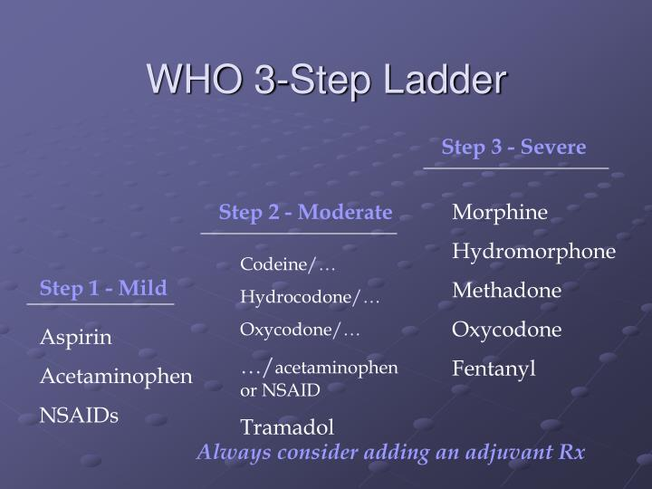 WHO 3-Step Ladder