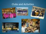 clubs and activities1