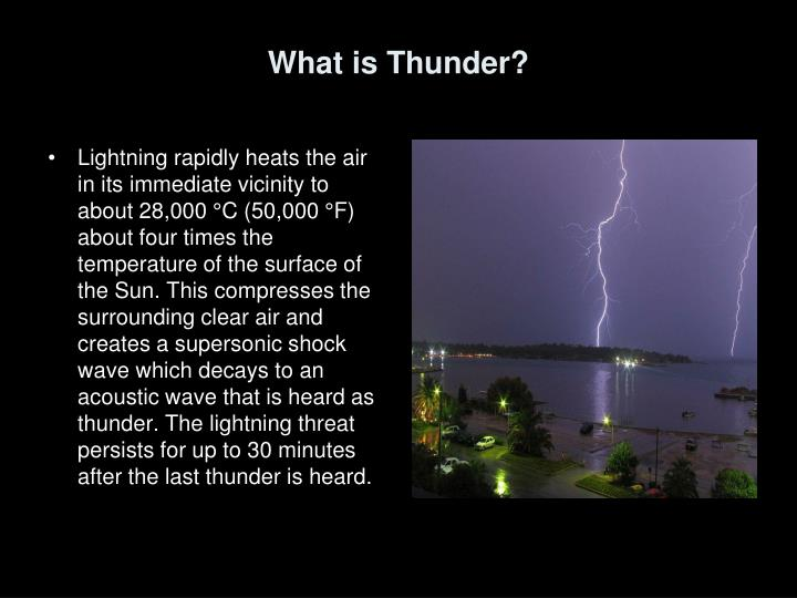 What is Thunder?