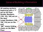 general building information1