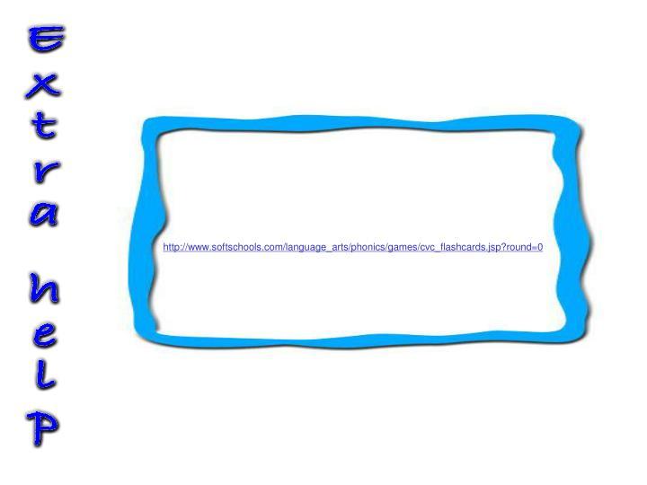 http://www.softschools.com/language_arts/phonics/games/cvc_flashcards.jsp?round=0