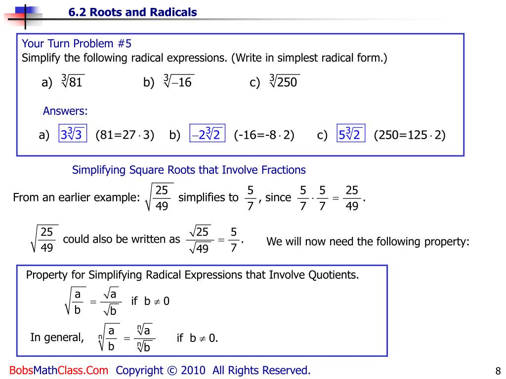 Ppt Square Roots The Square Root Of A Number Is One Of Its Two Equal Factors Powerpoint Presentation Id 4934715 In other words, a number y whose square (the result of multiplying the number by itself, or y ⋅ y) is x. ppt square roots the square root of