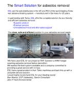 the smart solution for asbestos removal